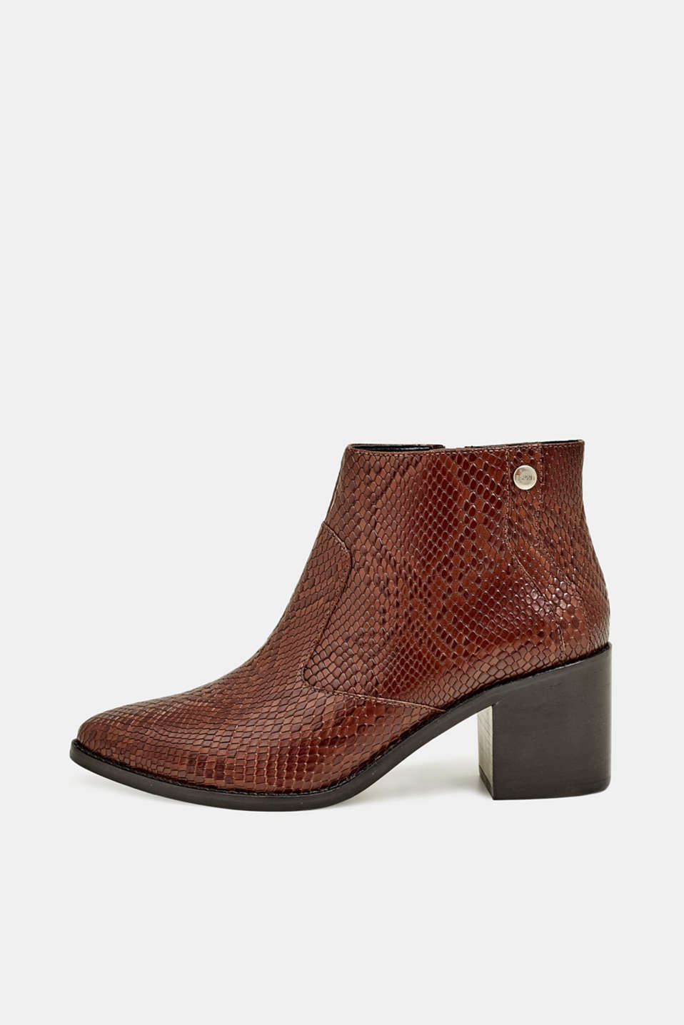 Esprit - Bottines d´aspect exotique