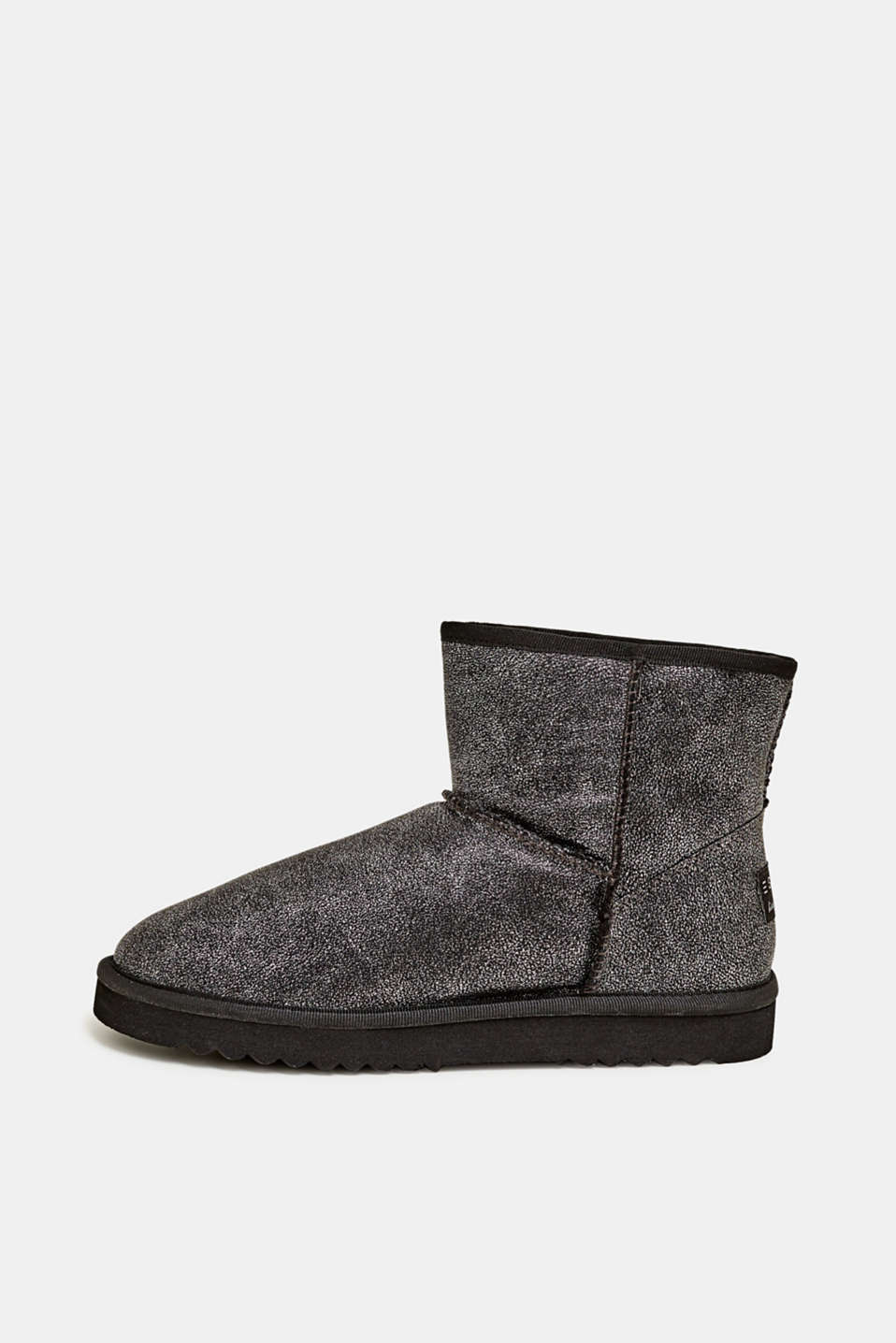 Esprit - Winter-Booties mit Webfell-Futter