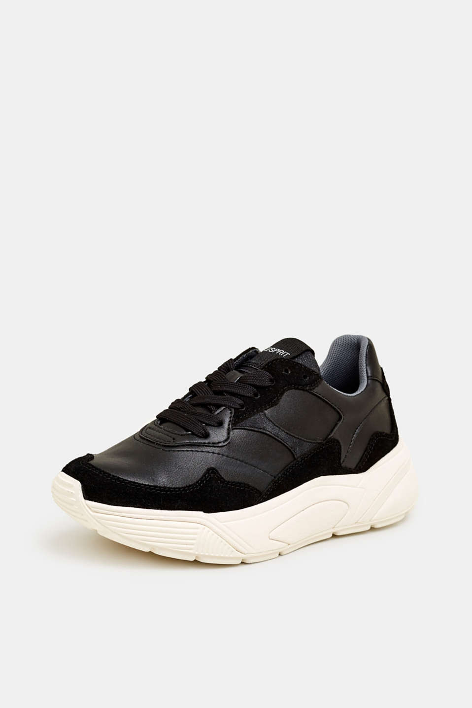 Trend trainers with an oversized sole, BLACK, detail image number 2