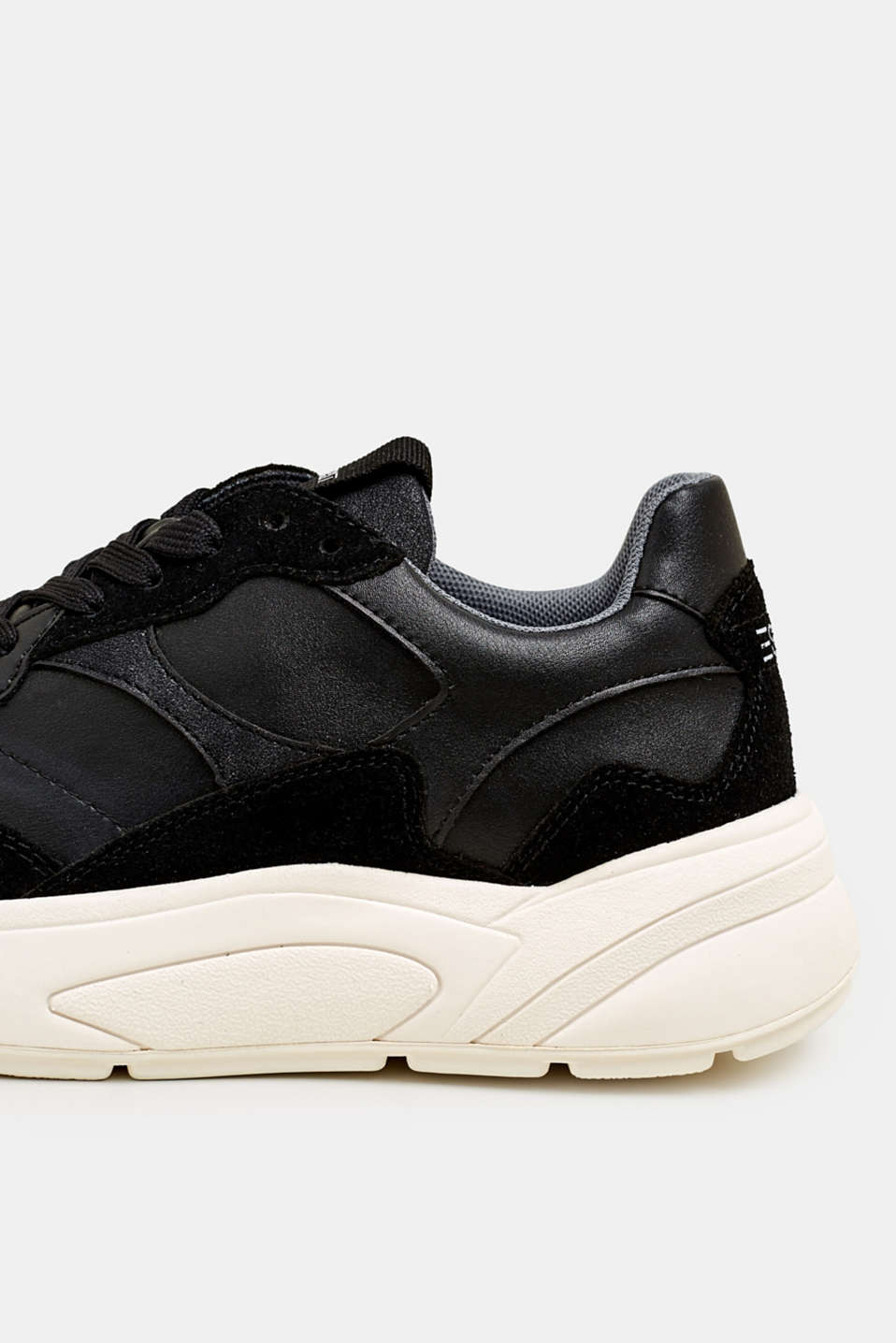 Trend trainers with an oversized sole, BLACK, detail image number 5