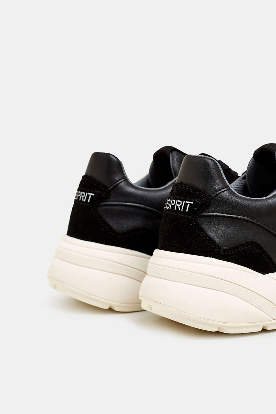 Trend trainers with an oversized sole, BLACK, detail image number 6