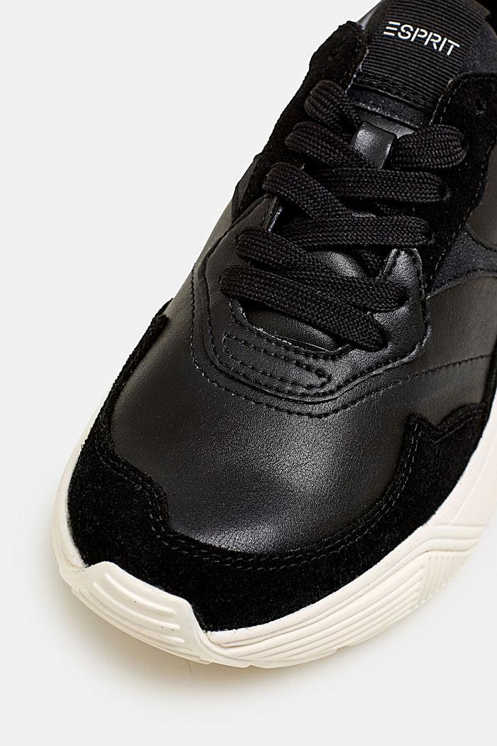 Modne sneakersy na platformie oversize