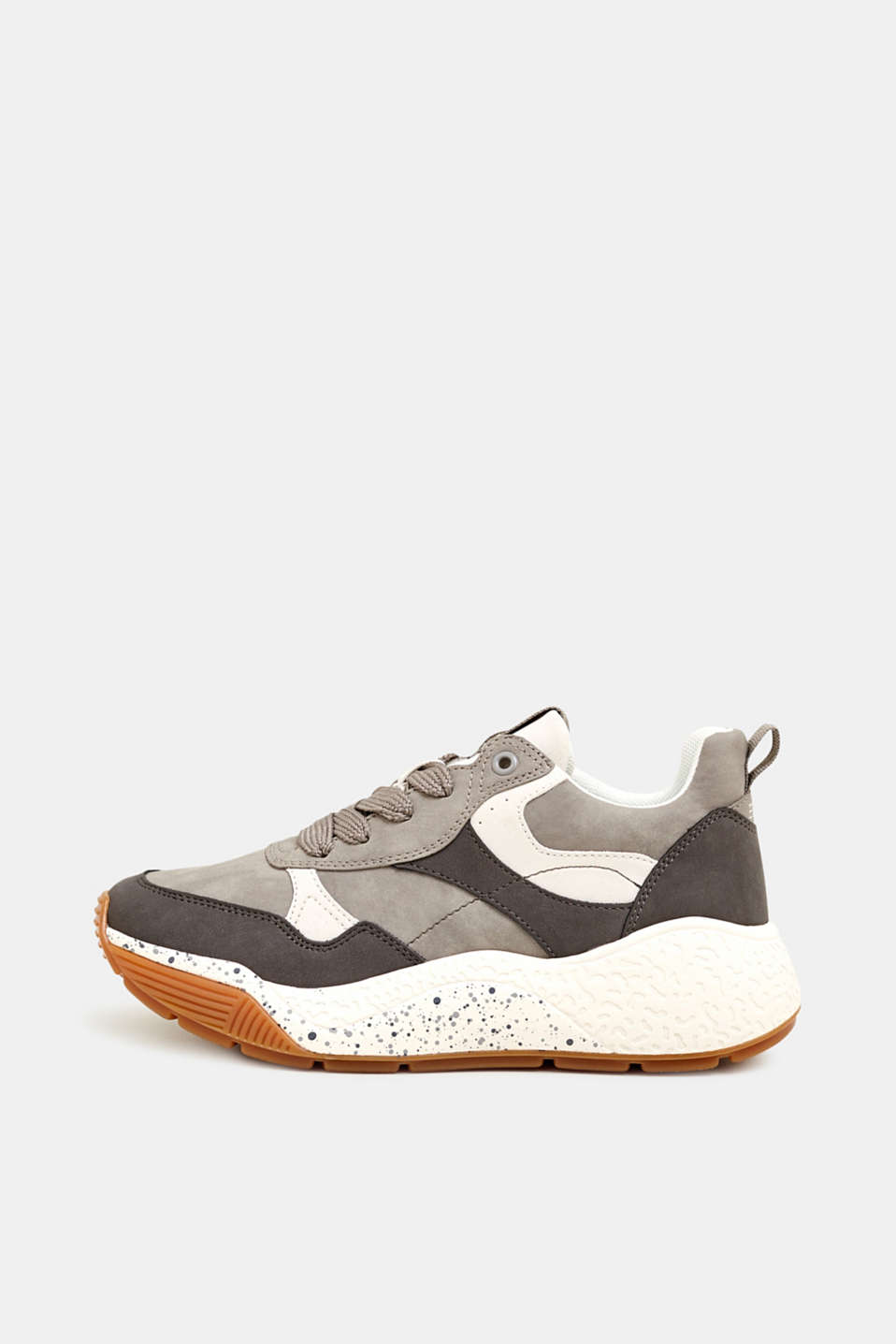 Trend trainers with an oversized sole, GREY, detail image number 0