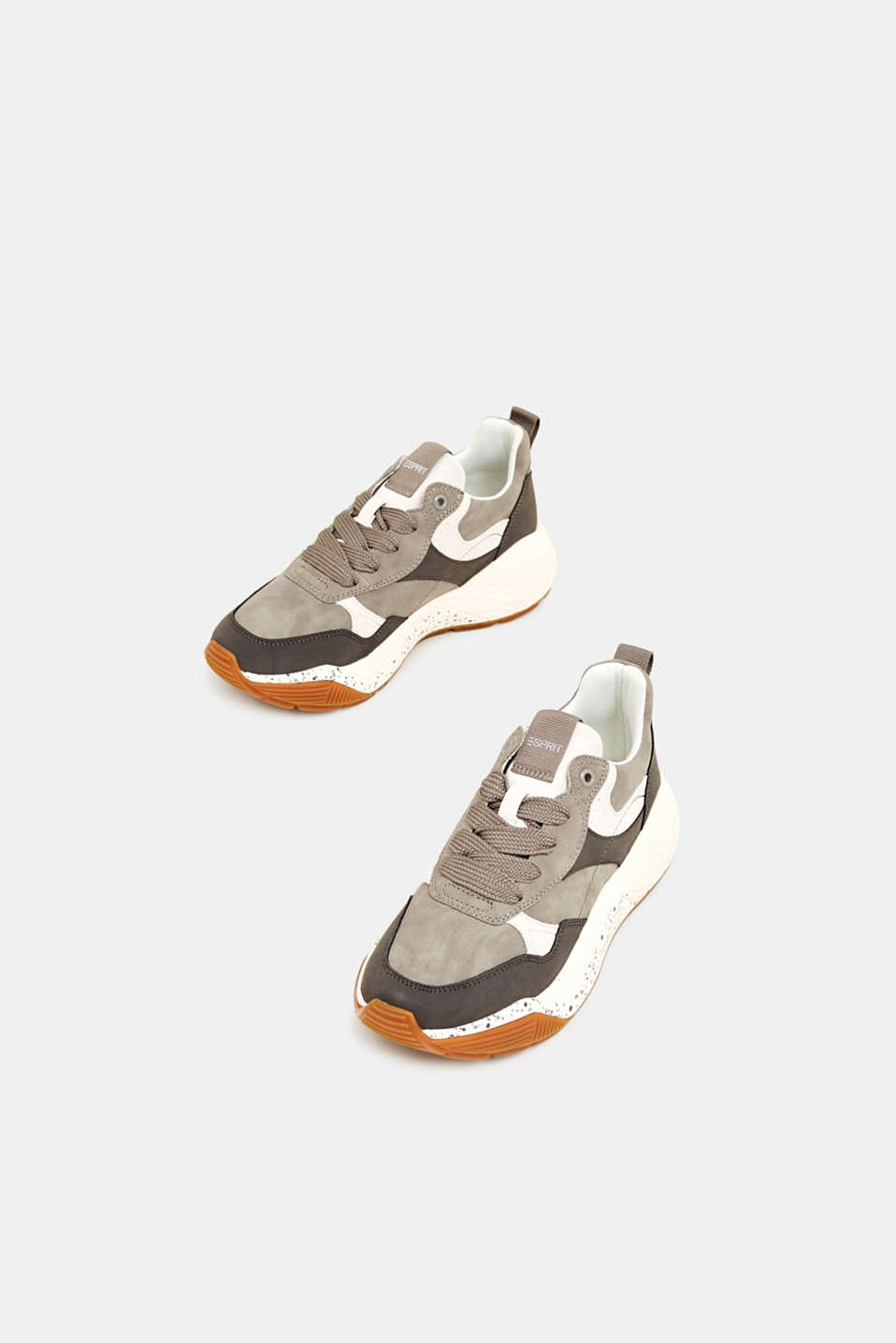 Trend trainers with an oversized sole, GREY, detail image number 1
