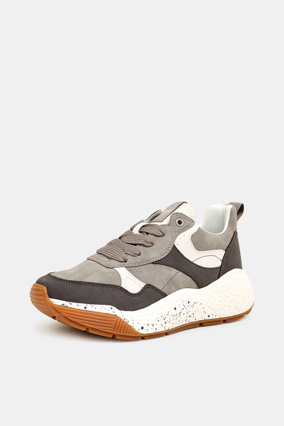 Trend trainers with an oversized sole, GREY, detail image number 2