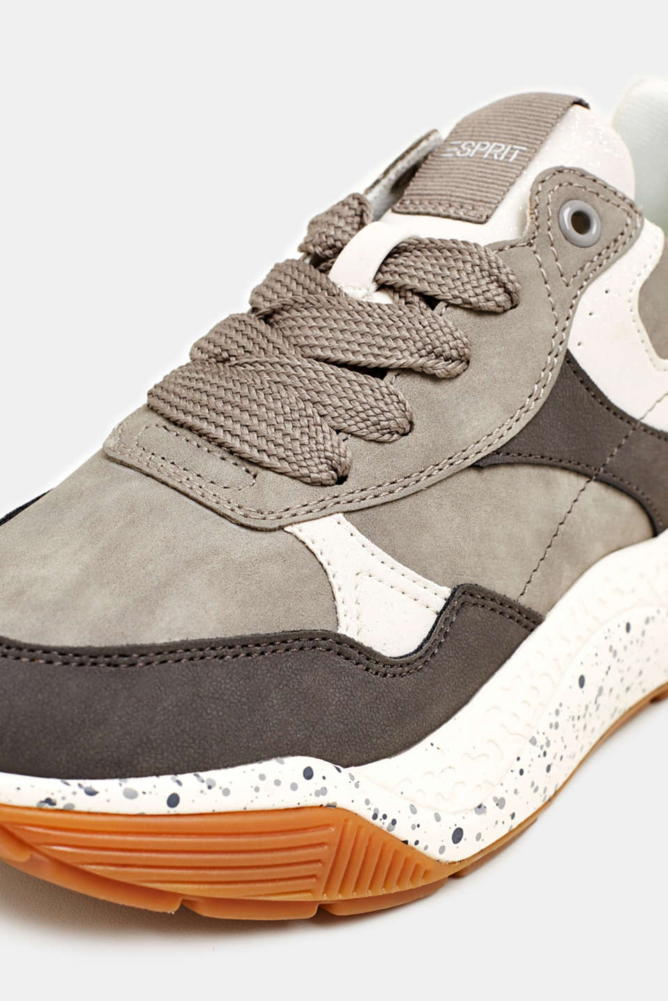 Trend trainers with an oversized sole, GREY, detail image number 4