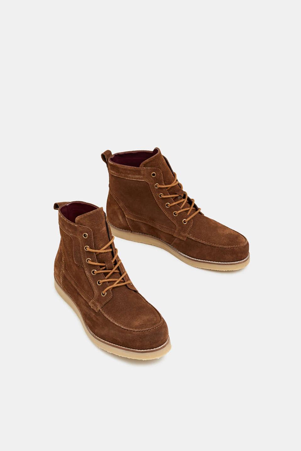 Formal Shoes leather, BARK, detail image number 1