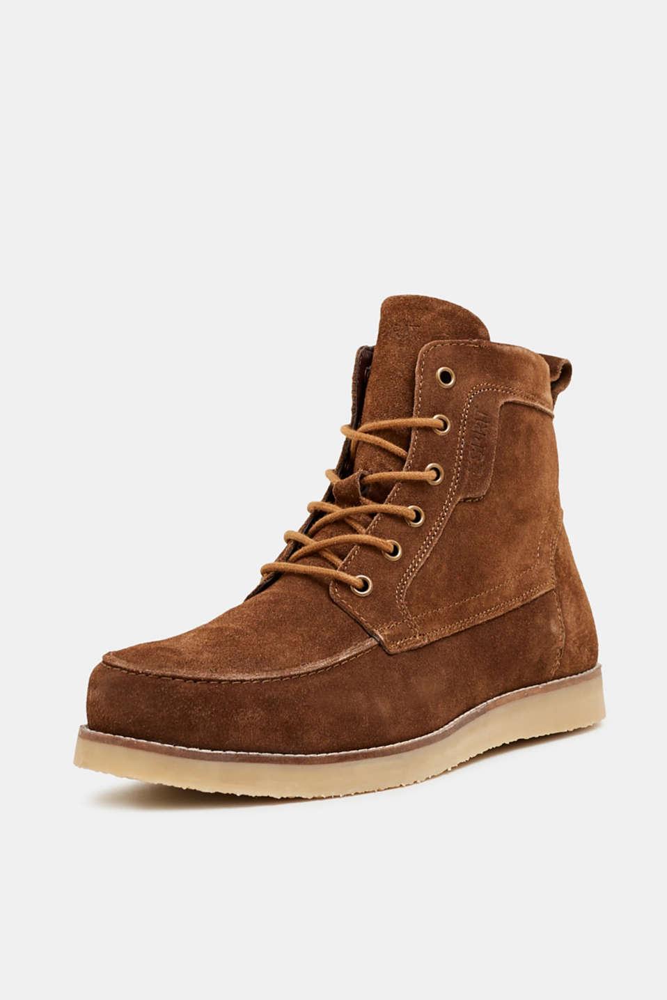 Formal Shoes leather, BARK, detail image number 2