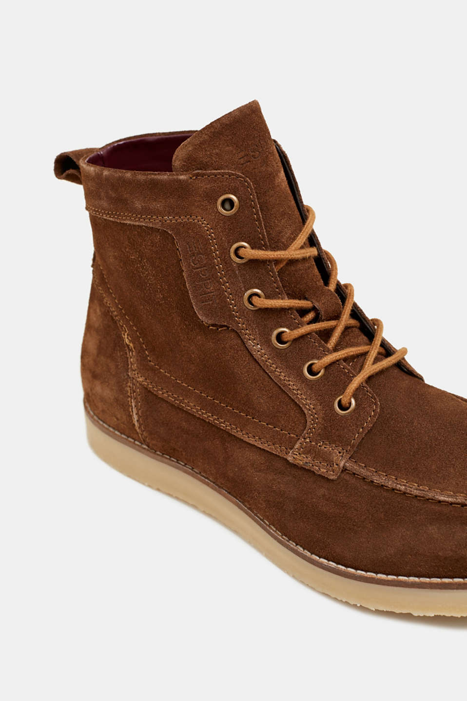 Formal Shoes leather, BARK, detail image number 4