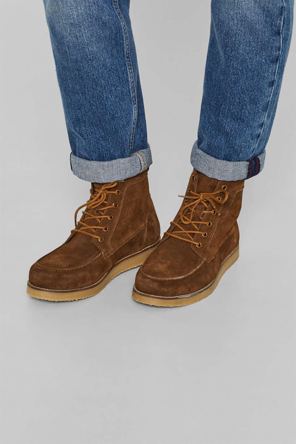 Formal Shoes leather, BARK, detail image number 3
