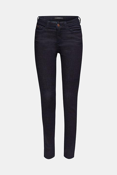 Stretch dark denim jeans
