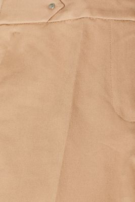 Two-way stretch trousers with waist straps, CAMEL, detail