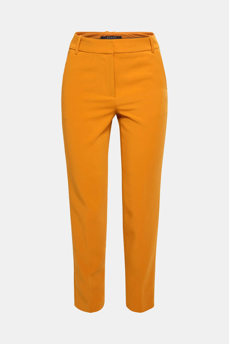 TAILORING Mix + Match stretch trousers, AMBER YELLOW, detail image number 8