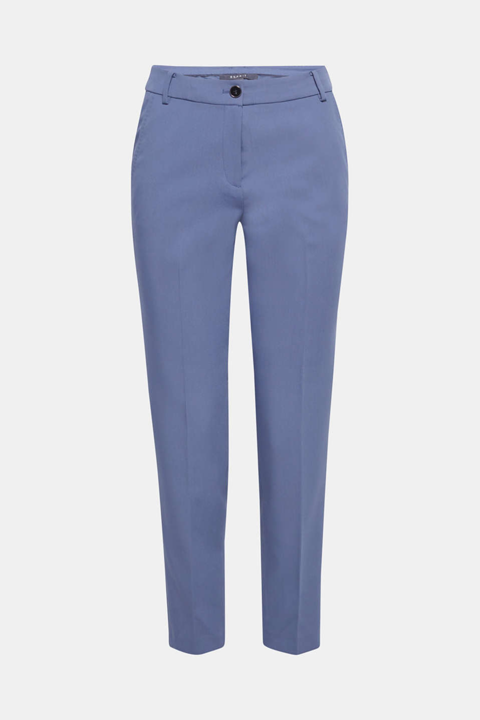 STITCHING mix + match stretch trousers with decorative stitching, GREY BLUE 2, detail image number 7