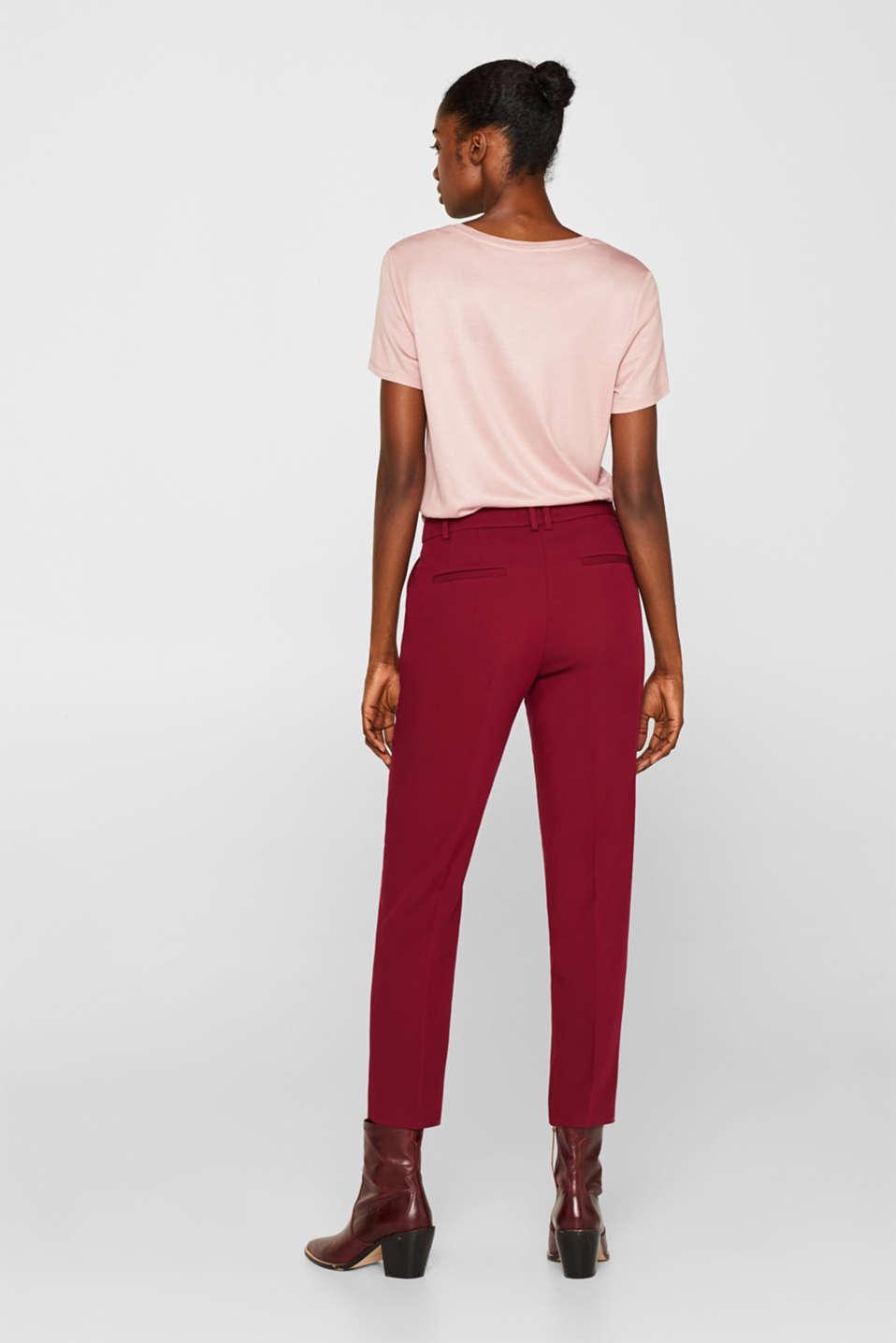 Pants woven, GARNET RED, detail image number 3