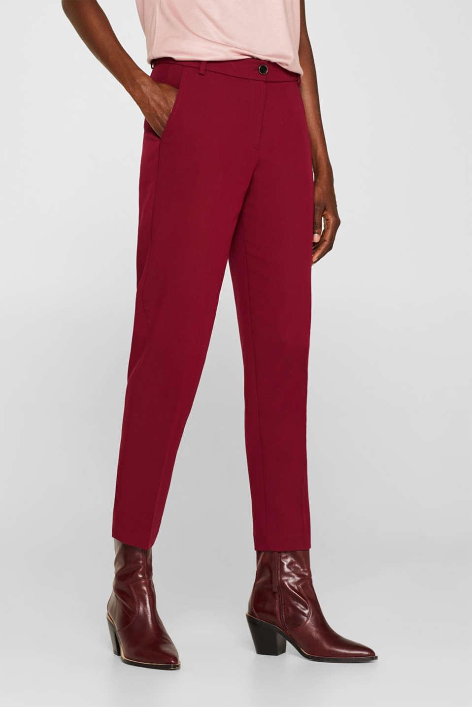 Pants woven, GARNET RED, detail image number 5