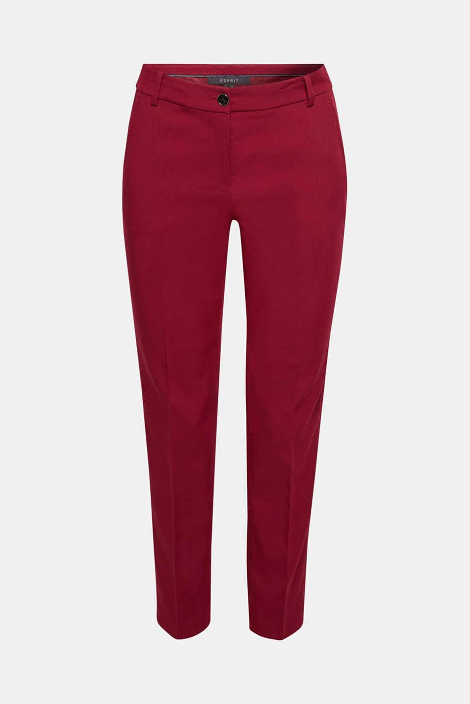 Pants woven, GARNET RED, detail image number 7