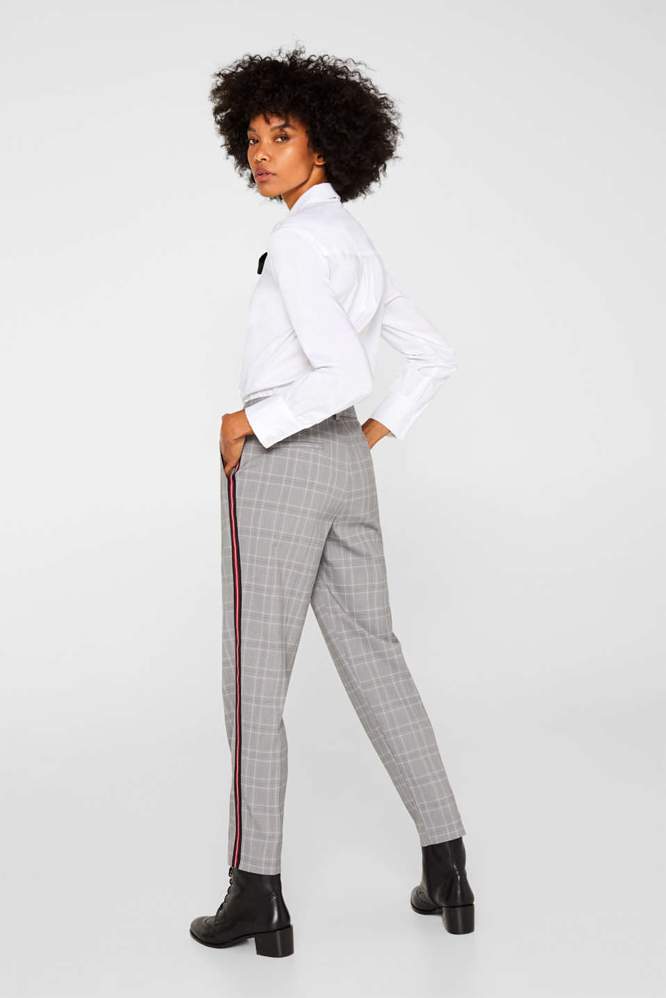 Pants woven, MEDIUM GREY, detail image number 3