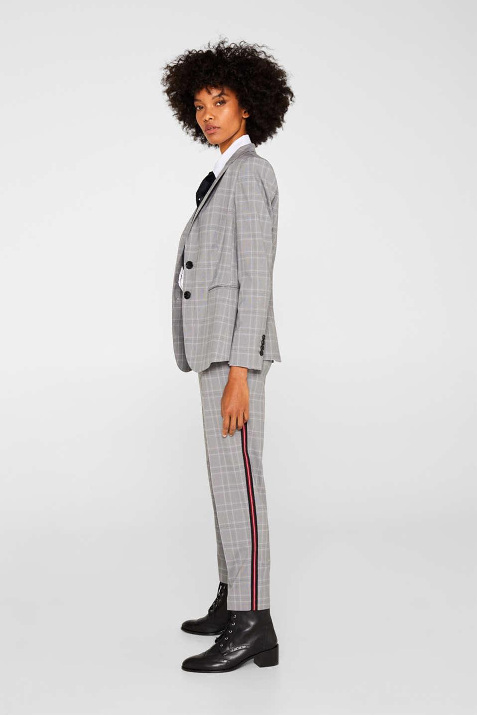 Pants woven, MEDIUM GREY, detail image number 1