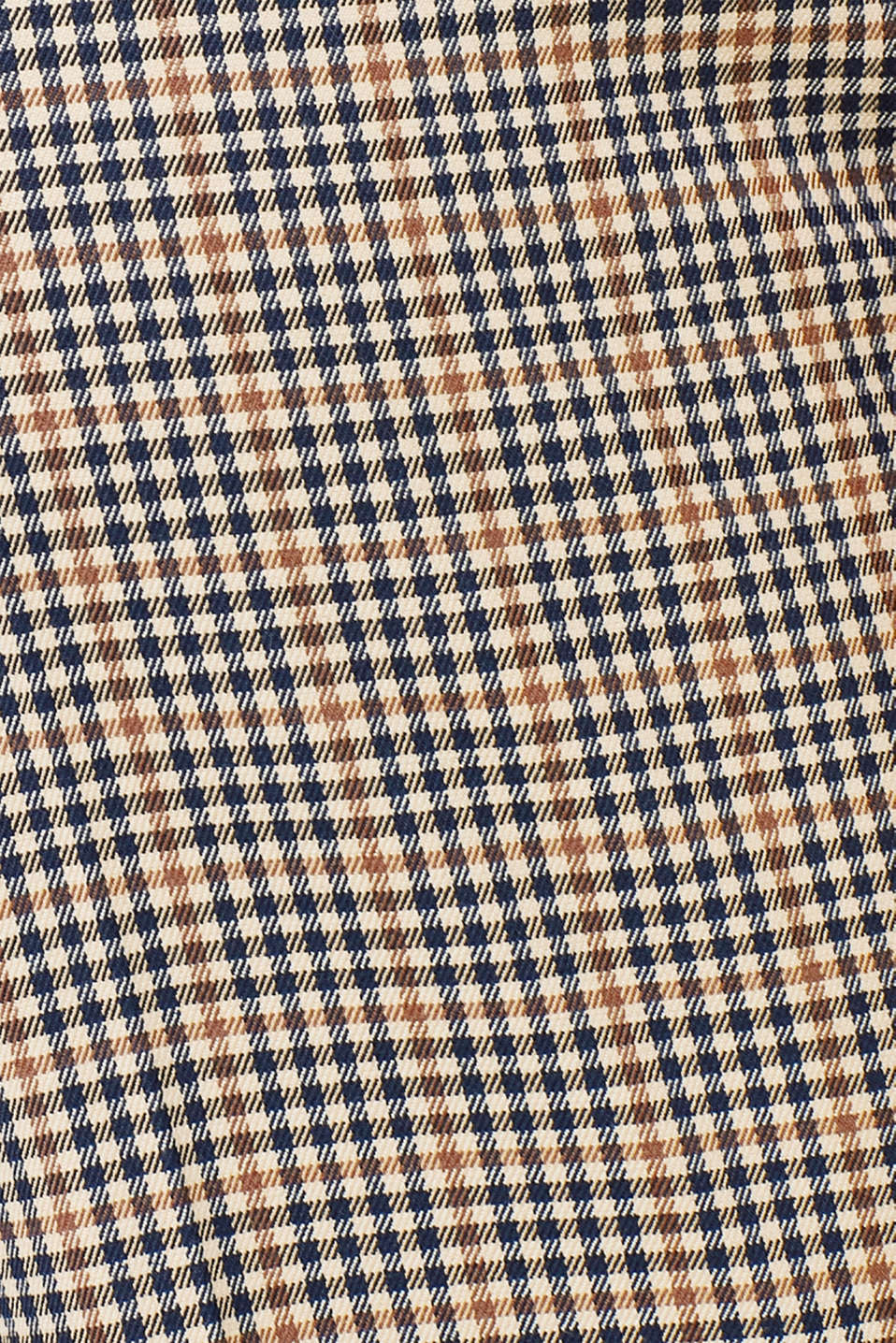 Stretch trousers with a small check, CAMEL, detail image number 4