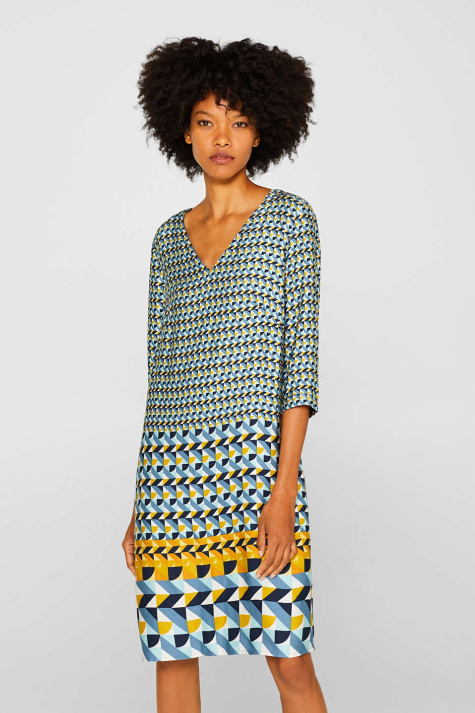 Esprit - Dress with a print