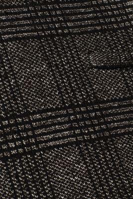 Melange sheath knit dress, BLACK 2, detail