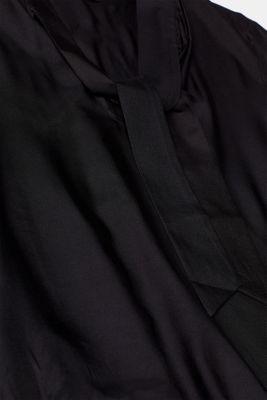 Silk blend: Pussycat bow blouse