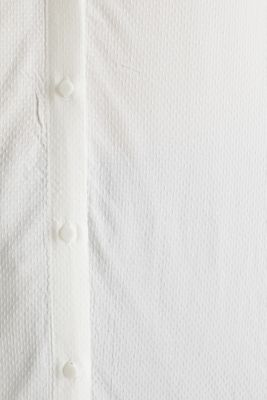 Textured shirt blouse, OFF WHITE, detail
