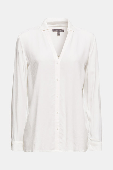 Textured shirt blouse