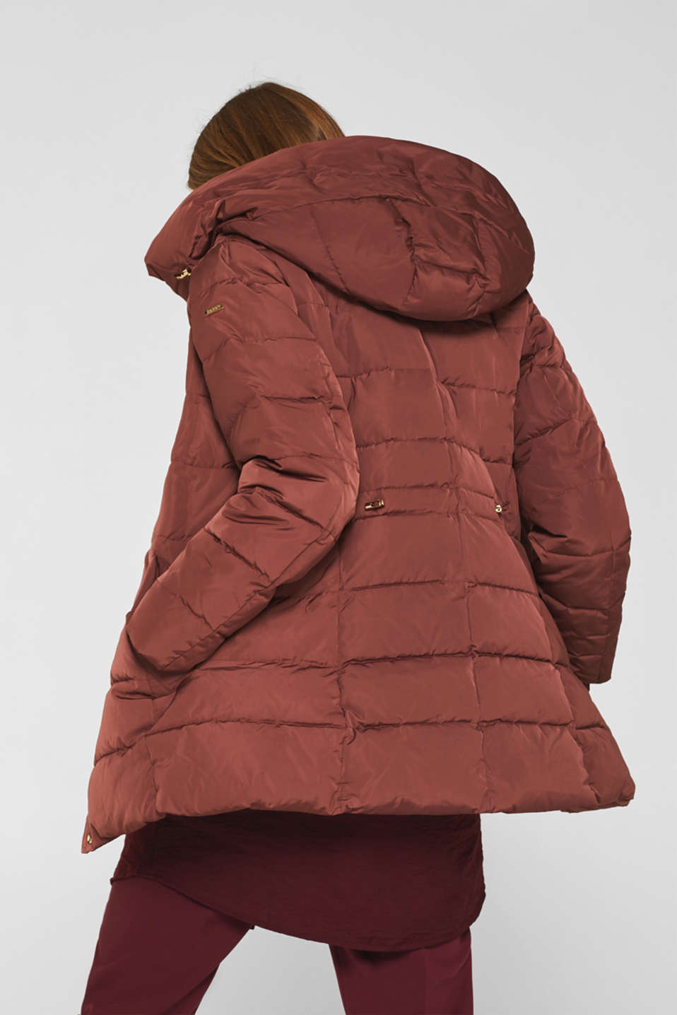 Jackets outdoor woven, RUST BROWN, detail image number 3