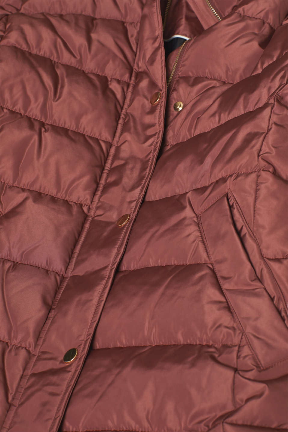 Jackets outdoor woven, RUST BROWN, detail image number 4