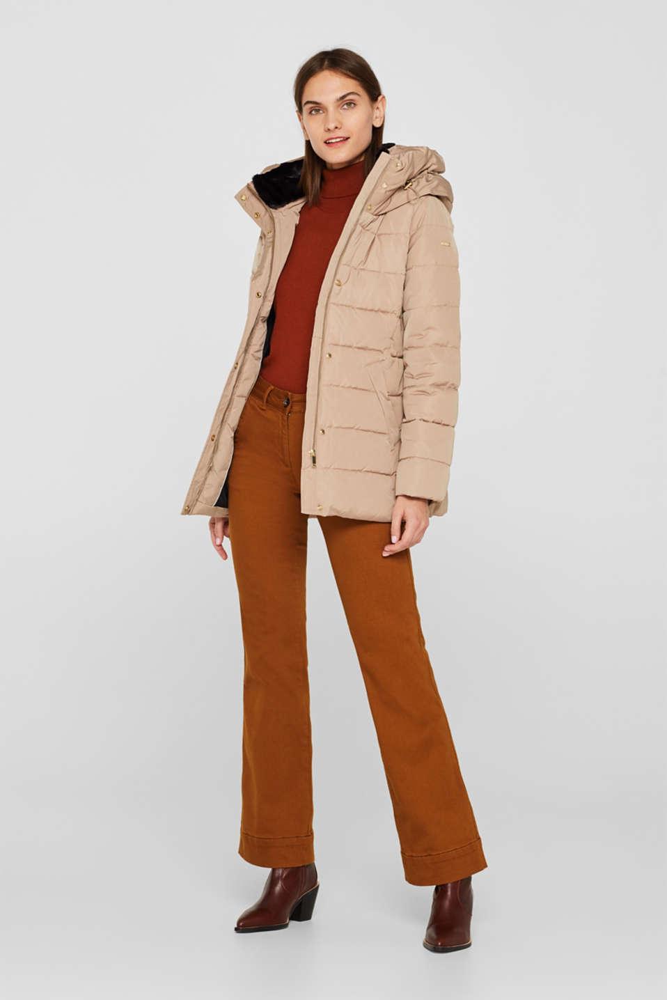 Jackets outdoor woven, SKIN BEIGE, detail image number 5