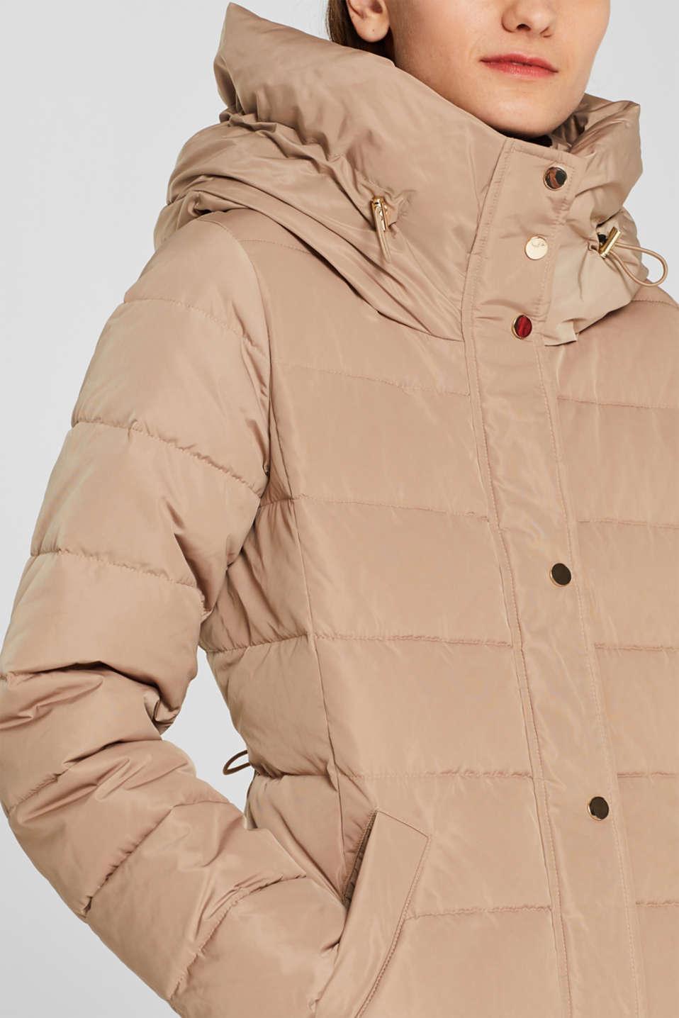 Jackets outdoor woven, SKIN BEIGE, detail image number 1