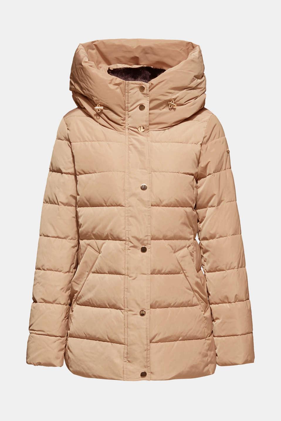 Jackets outdoor woven, SKIN BEIGE, detail image number 6