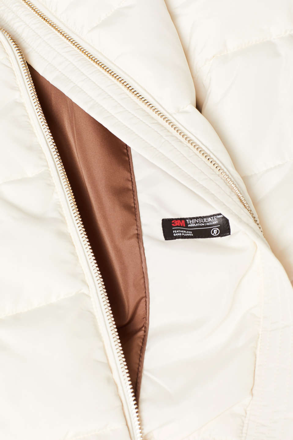 Jackets outdoor woven, OFF WHITE, detail image number 4