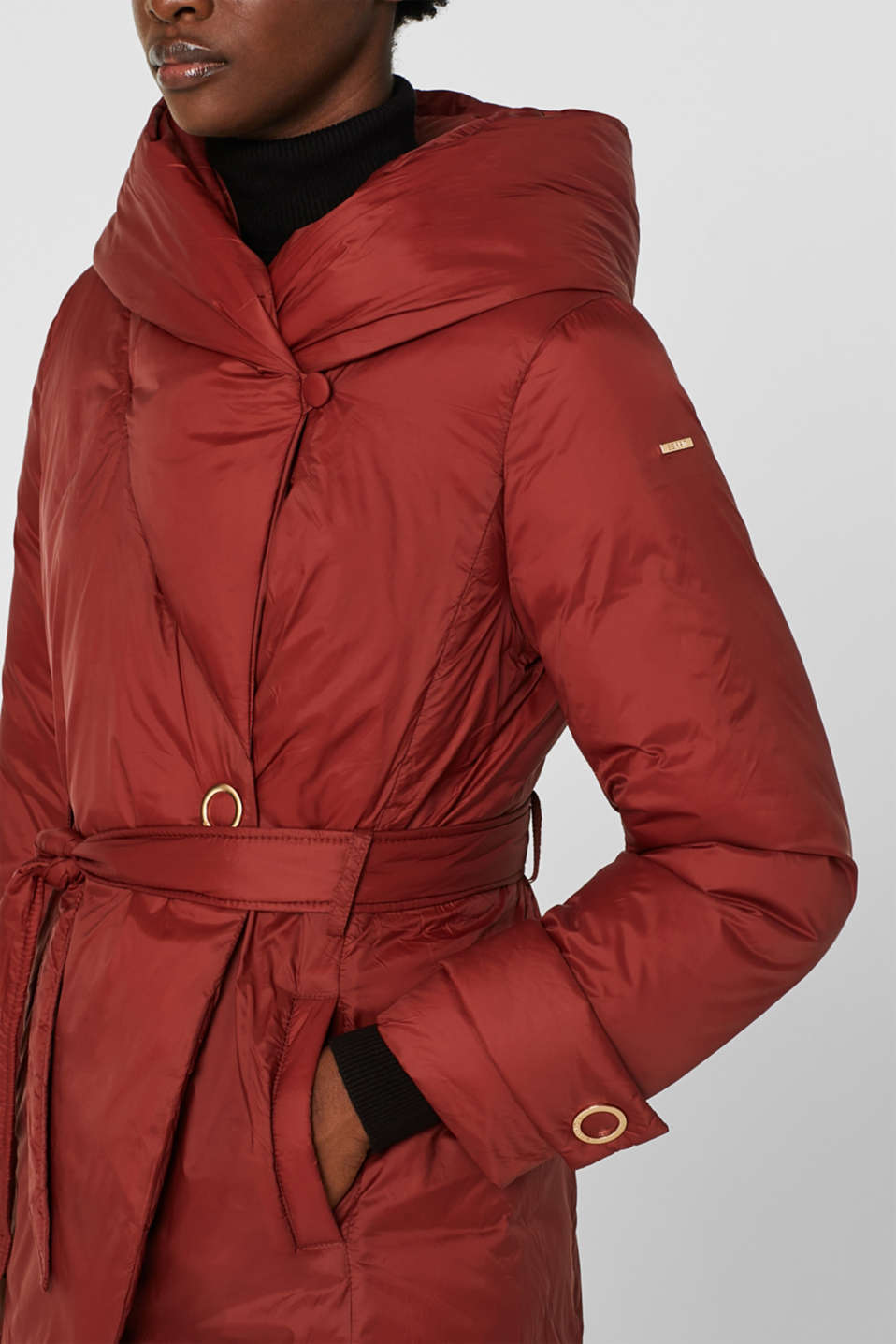 Jacket with 3M™ Thinsulate™ padding, TERRACOTTA, detail image number 2