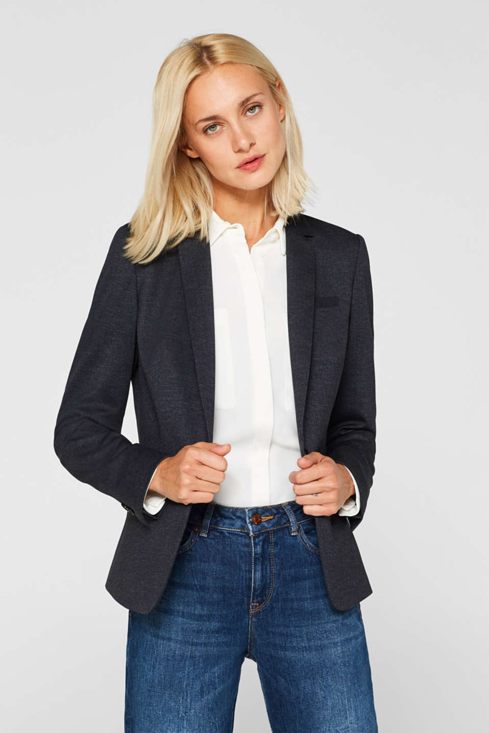 Esprit - Blazer stretch au look business