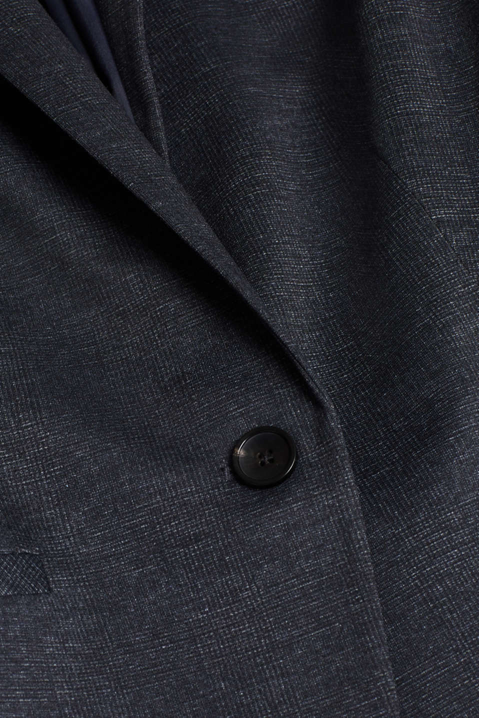 Stretch blazer in a business look, NAVY 5, detail image number 4