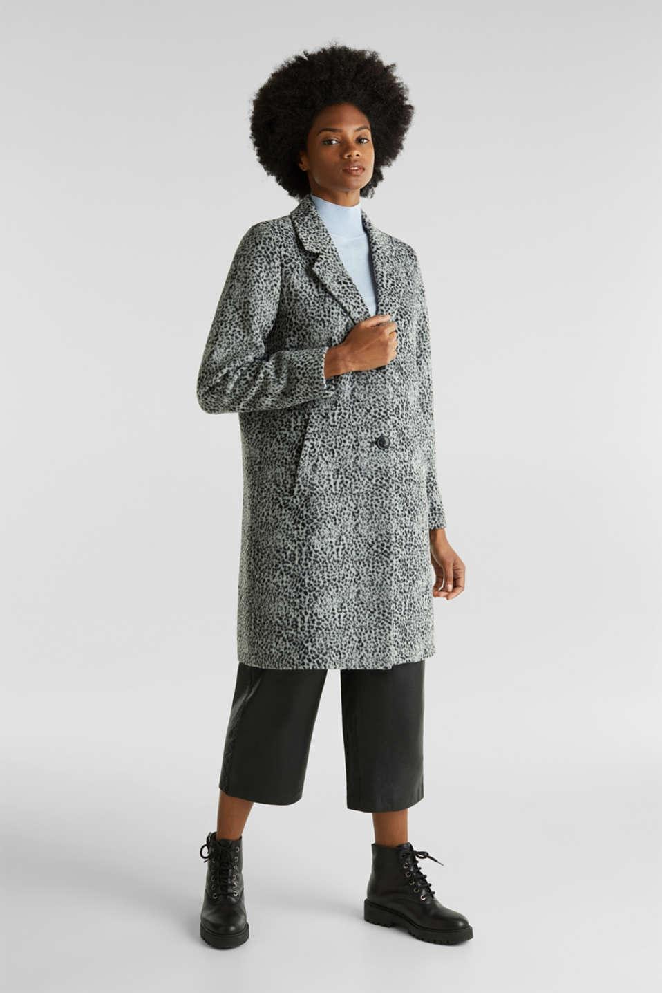 Coats woven, GUNMETAL 5, detail image number 1