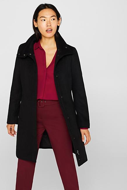Manteau long femme esprit