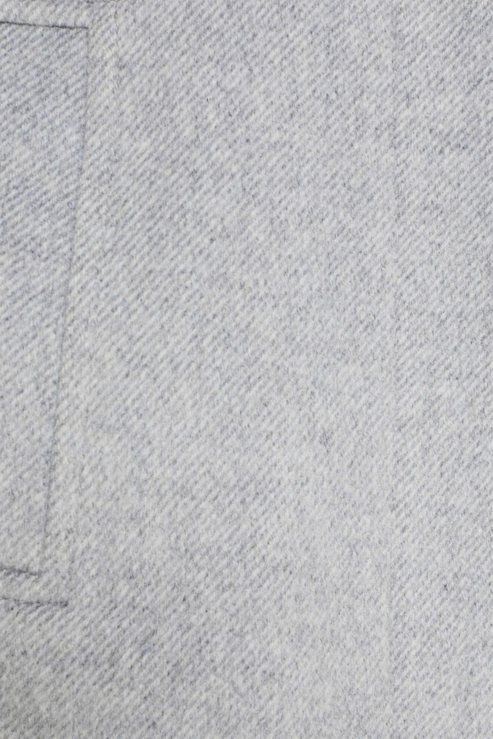 Wool blend: coat with a stand-up collar, LIGHT GREY 5, detail image number 3