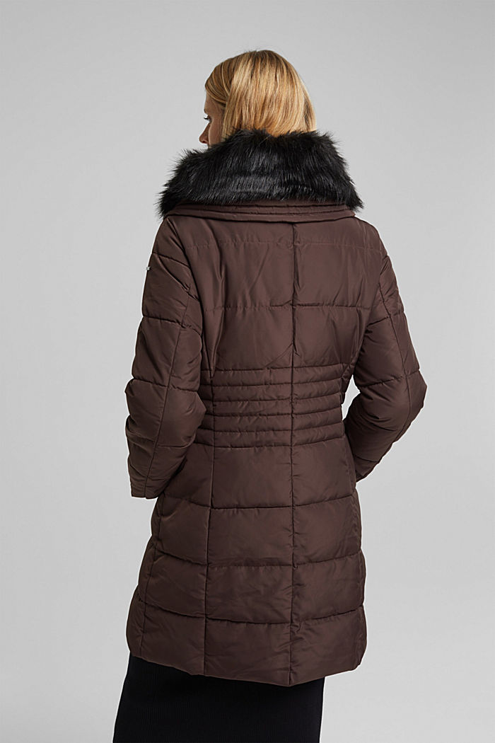 Quilted coat with 3M®Thinsulate filling, BROWN, detail image number 3