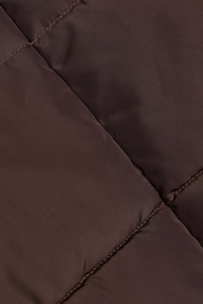 Quilted coat with 3M®Thinsulate filling, BROWN, detail image number 4