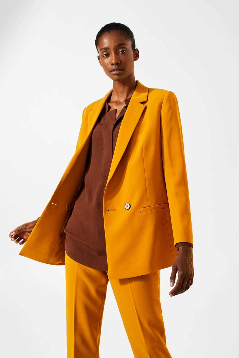 Esprit - TAILORING mix + match stretchblazer