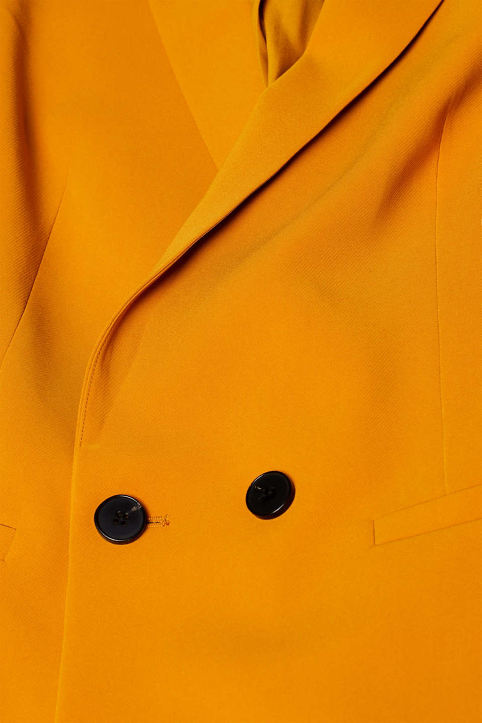 TAILORING mix + match stretch blazer, AMBER YELLOW, detail image number 4