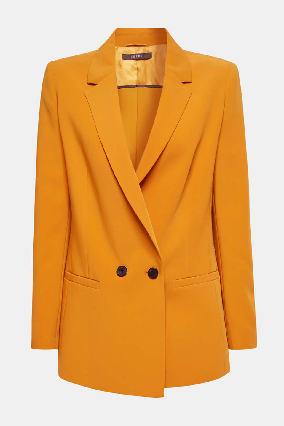 TAILORING mix + match stretch blazer, AMBER YELLOW, detail image number 7