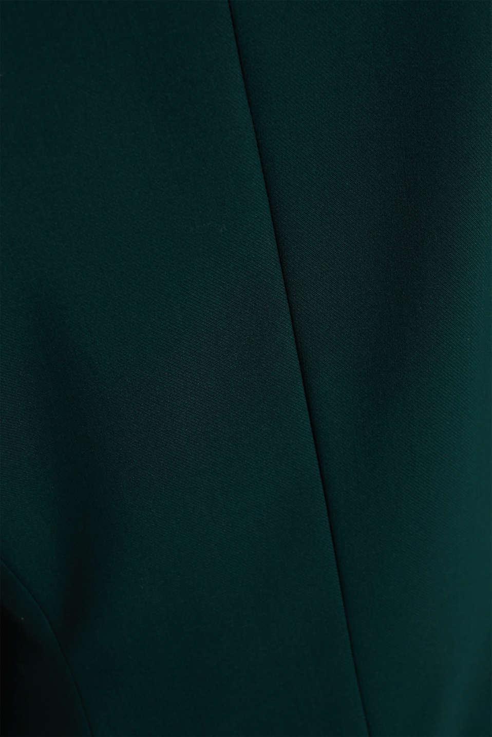 STITCHING mix + match stretch blazer, DARK TEAL GREEN 2, detail image number 3
