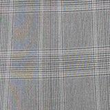 GLENCHECK mix + match stretch blazer, MEDIUM GREY, swatch