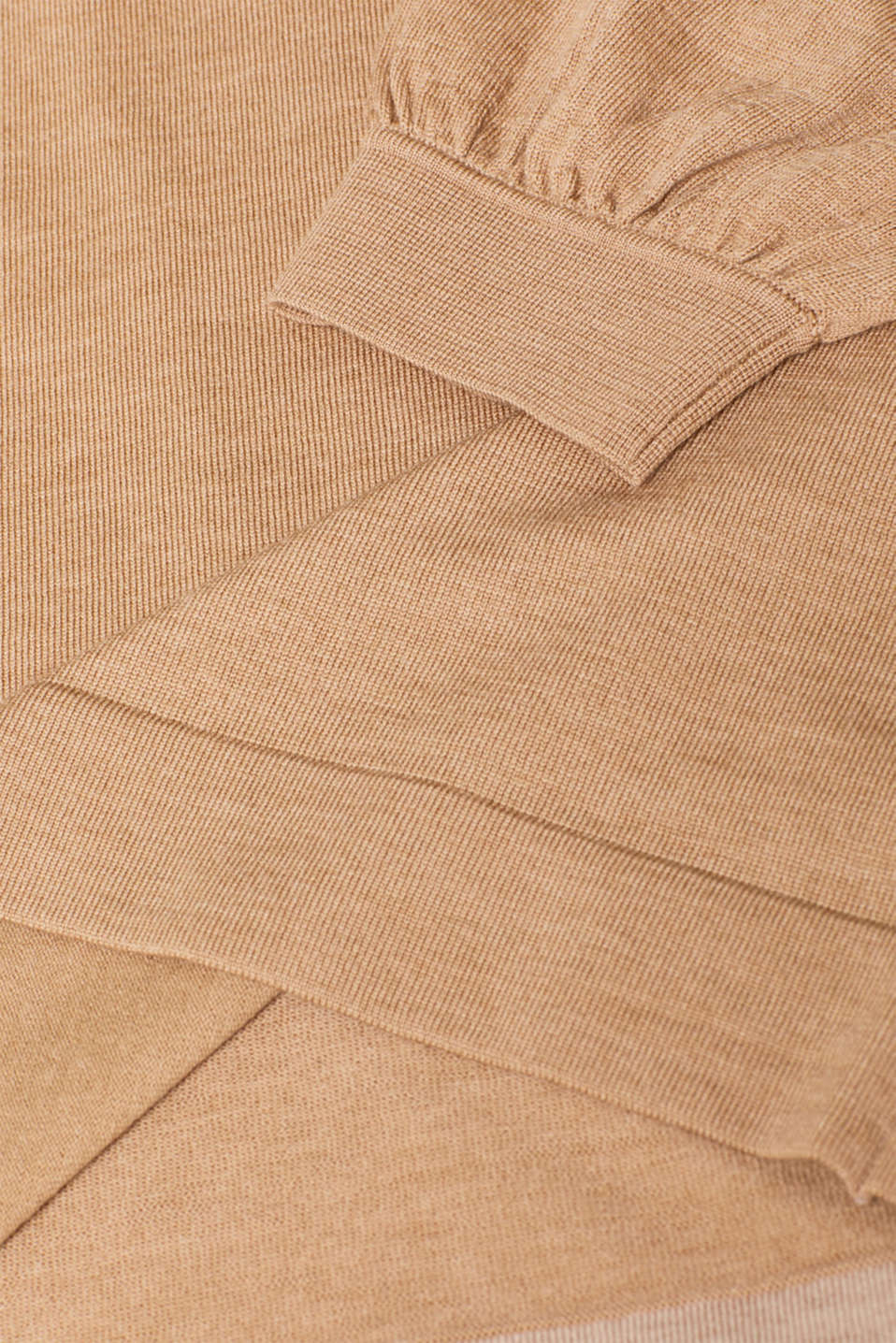 Sweaters, CARAMEL 5, detail image number 4