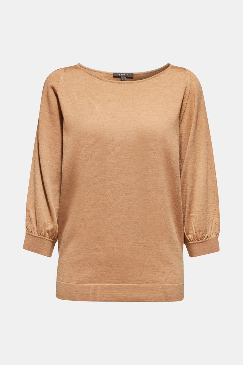 Sweaters, CARAMEL 5, detail image number 5